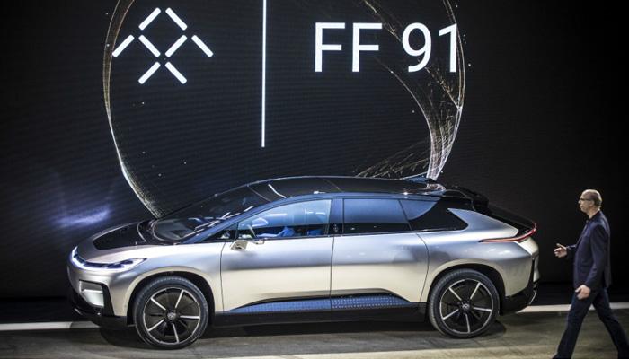 CES 2017 - Faraday Future