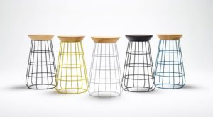 Counter Height Stool from the Sidekick Collection by Timothy John