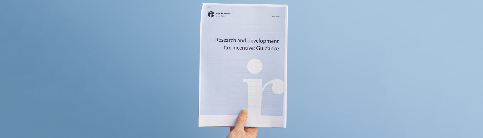 R&D Tax incentive: Guidance